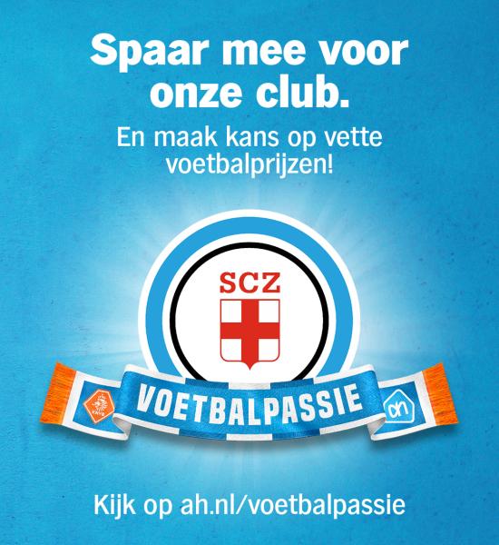 Voetbalpassie; Spaar mee voor SCZ bij Albert Heijn!